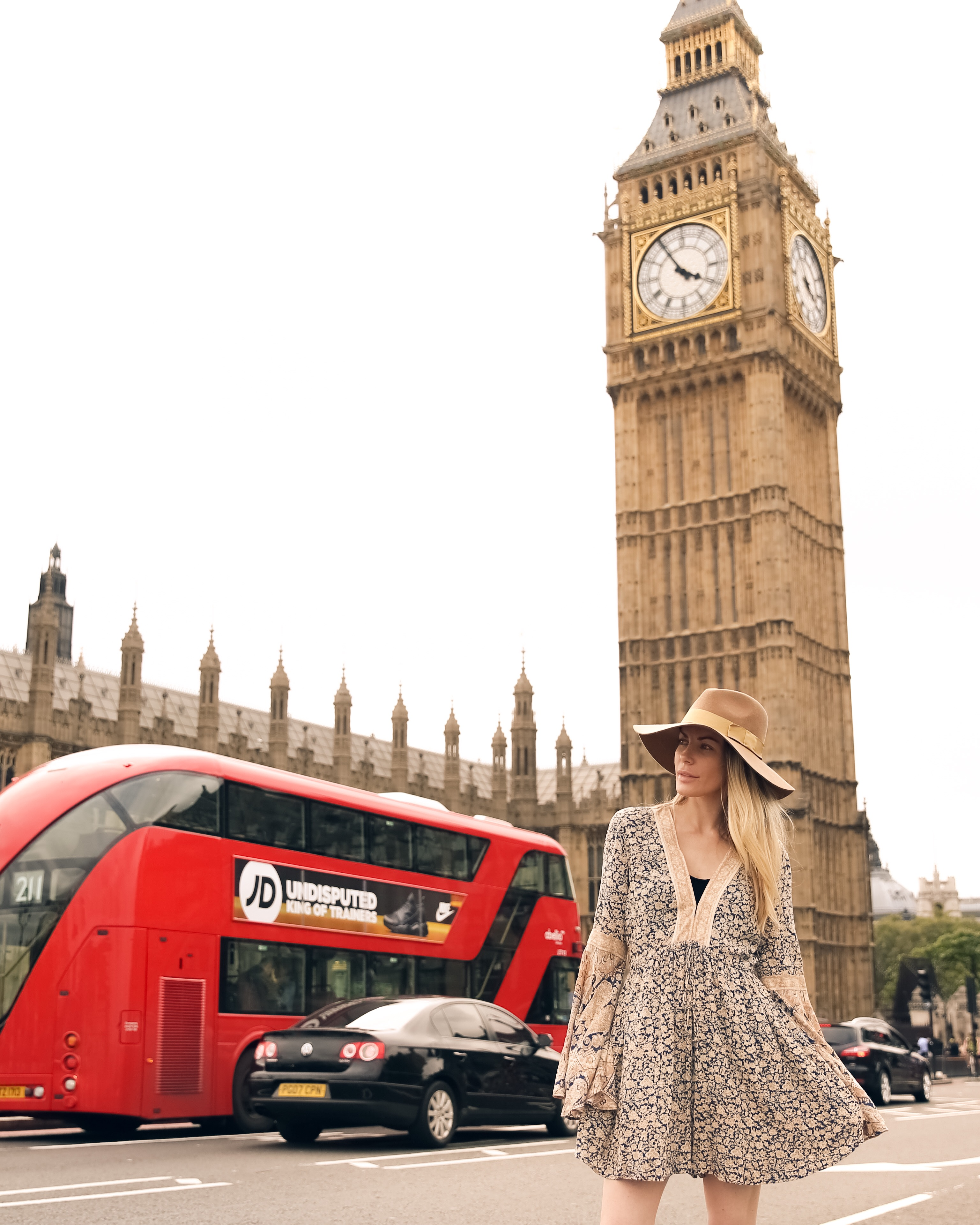Tourist for a day in London, England