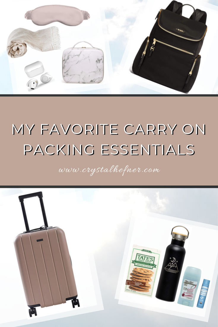 My Go-To Carry On Packing Essentials for Every Trip