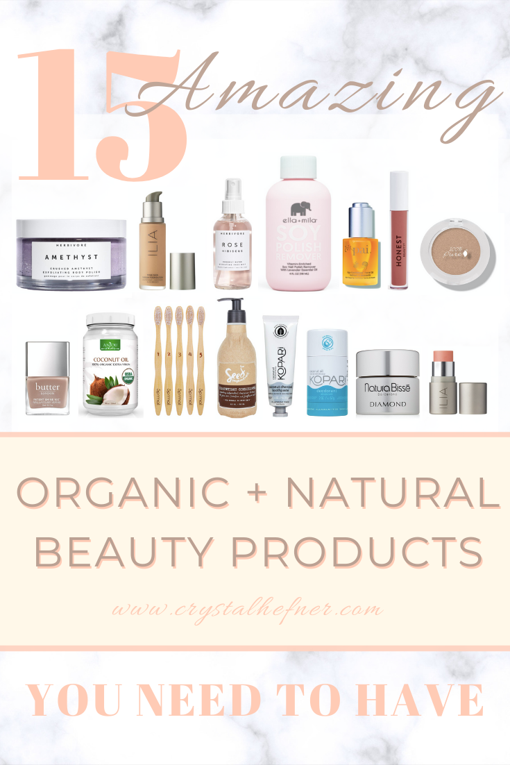 15+ Amazing Organic and Natural Beauty Products You Need